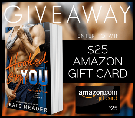 hooked on you giveaway