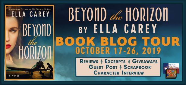 Beyond the Horizon blog tour cover