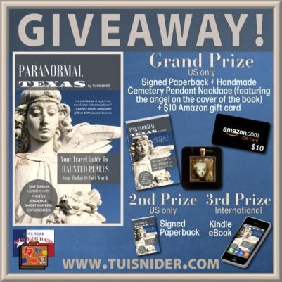 Paranormal Texas giveaway