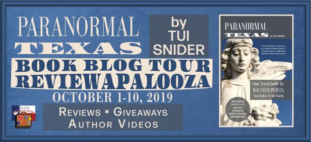 Paranormal Texas tour cover