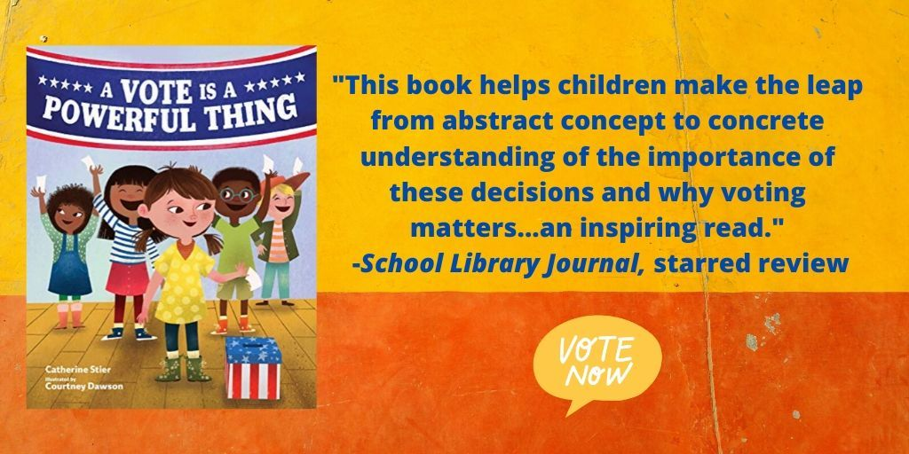 """This book helps children make the leap from abstract concept to concrete understanding of the importance of these decisions and why voting matters...an inspiring read.""-School Library Journal, starred review"